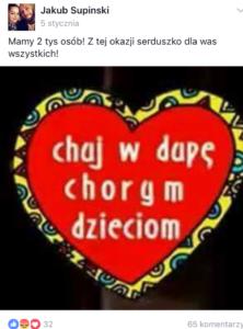 """""""CHUJ W DUPĘ CHORYM DZIECIOM"""". CO POLACY MYŚLĄ O 500+."""